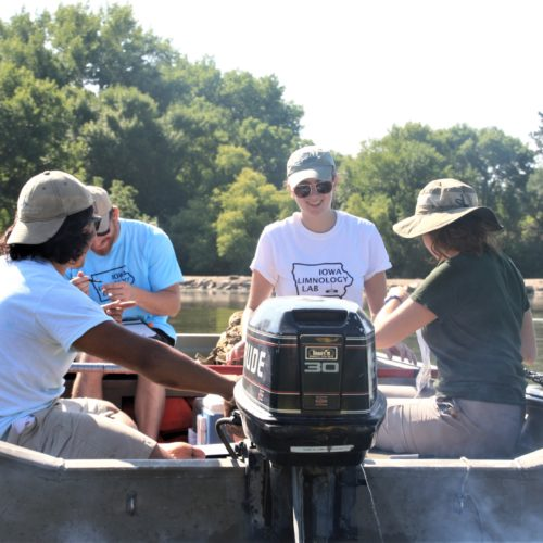 Albright Selected as a Recipient for the Iowa Water Center's Institute Research Grant Competition