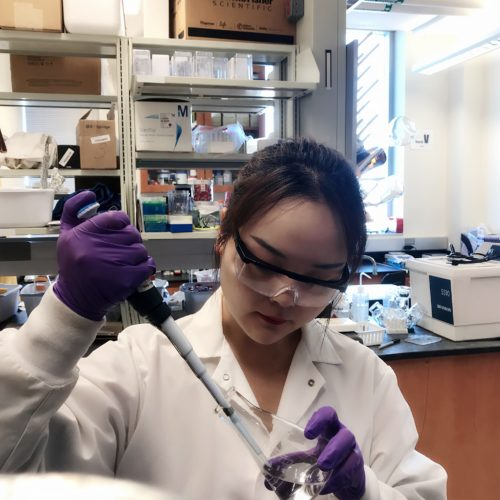 Zhi Selected as a Recipient for the Iowa Water Center's Institute Research Grant Competition