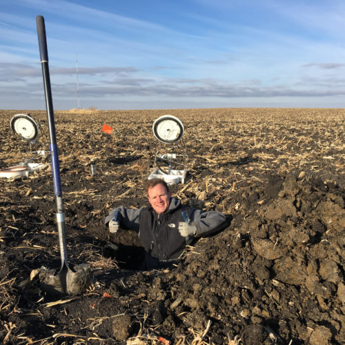 Lawrence Selected as a Recipient for the Iowa Water Center's Institute Research Grant Competition